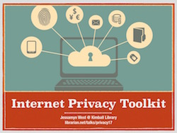 slide image from the internet privacy toolkit