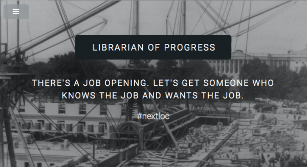 Librarian of PROgress. Let's start the conversation.