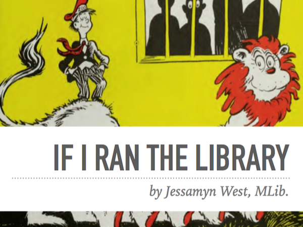 slide from my If I Ran the Library talk