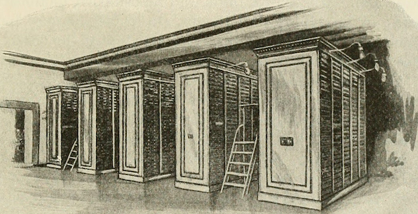 image of book shelves from Chicago Public Library
