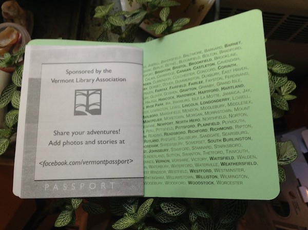 shot of the inside cover of 2015's passport