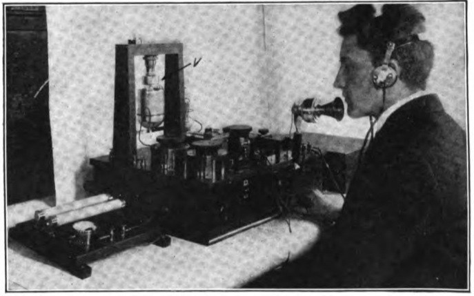marconi company radiophone set